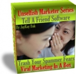 Tell A Friend - Viral Marketing In A Box Software with Resale Rights