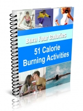 51 Calorie Burning Activities eBook with Resale Rights