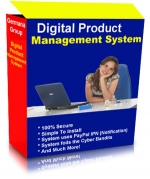 Digital Product Management System Software with Master Resale Rights