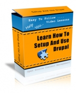 Learn How To Setup And Use Drupal Video with private label rights