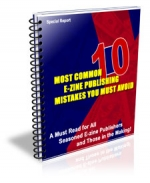 Most Common E-zine Publishing Mistakes You Must Avoid eBook with Private Label Rights