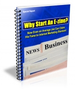 Why Start An E-zine? eBook with Private Label Rights