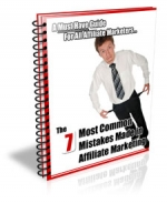 7 Most Common Mistakes Made in Affiliate Marketing eBook with Private Label Rights