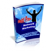 Debt Free Network Marketing eBook with Private Label Rights