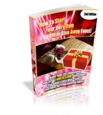 How To Start Your Very Own Mini Give Away Event! eBook with Master Resale Rights