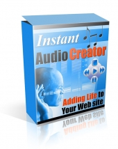 Instant Audio Creator Software with Resale Rights