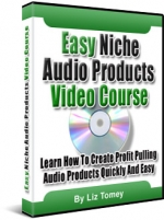 Easy Niche Audio Products Video Course eBook with Resale Rights
