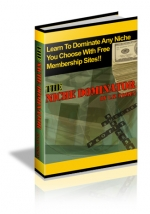 The Niche Dominator eBook with Master Resale Rights