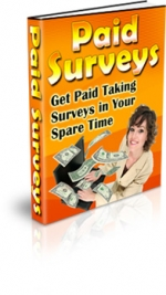 Paid Surveys eBook with Master Resale Rights