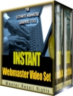 Instant Webmaster Video Set Video with Master Resale Rights