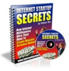 Internet Startup Secrets eBook with private label rights