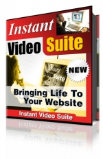 Instant Video Suite Software with Master Resale Rights