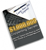 $1,000,000 Copywriting Secrets eBook with Master Resell Rights