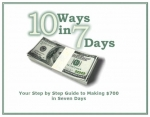 10 Ways in 7 Days eBook with Master Resale Rights