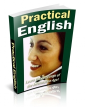 Practical English eBook with private label rights