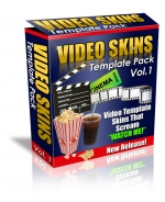Video Skins Template Pack : Vol.1 Template with Personal Use Rights