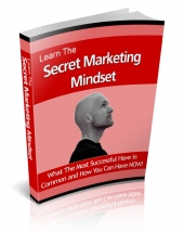 Learn The Secret Marketing Mindset eBook with Resale Rights