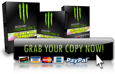 eCover Monsters 10 Premium Header Pack