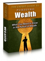 The Expert Guide To Pursuing Wealth eBook with Private Label Rights
