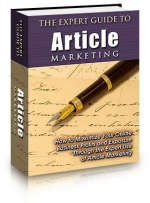 The Expert Guide To Article Marketing eBook with Private Label Rights