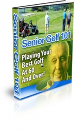Senior Golf 101 eBook with Master Resale Rights
