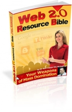 Web 2.0 Resource Bible eBook with Master Resale Rights