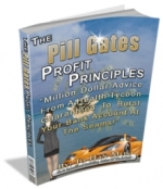 The Pill Gates Profit Principles eBook with Personal Use Rights