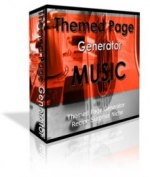 Themed Page Generator - Music Software with Personal Use Rights