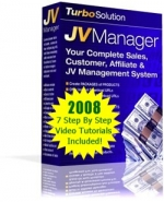7 Step By Step JVManager Video Tutorials Video with Personal Use Rights