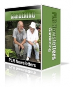 Gardening Niche Newsletters Gold Article with Personal Use Rights
