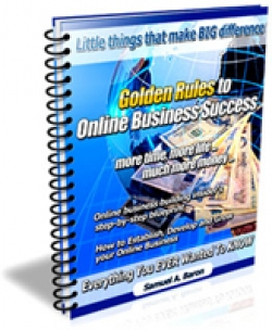 Golden Rules to Online Business Success