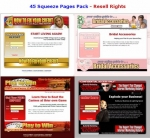 45 Squeeze Pages Pack Template with Personal Use Rights