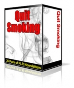 Quit Smoking Niche Newsletters Gold Article with Personal Use Rights