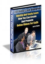 The Video Cash Blueprint eBook with Master Resale Rights