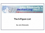 The 6-Figure List eBook with Private Label Rights