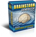 Brainstorm Generator Software with Resale Rights