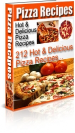 Pizza Recipes eBook with Private Label Rights