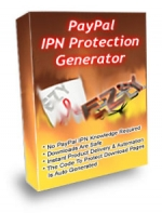Paypal IPN Protection Generator Software with Private Label Rights