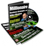 Millionaire Business Strategies With Mike Filsaime Video with Personal Use Rights