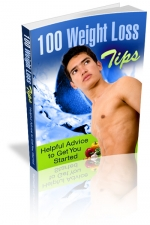 100 Weight Loss Tips eBook with Master Resell Rights