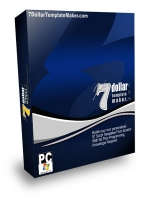 7 Dollar Template Maker Software with Resale Rights