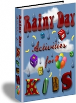 Rainy Day Activities For Kids eBook with Private Label Rights
