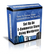 Set Up An E-Commerce Store Using WordPress Video with Personal Use Rights