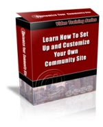 Set Up And Customize Your Own Community Site Video with Personal Use Rights