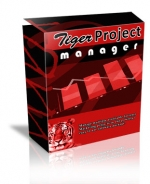 Tiger Project Manager Software with Resale Rights