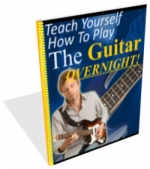 Teach Yourself How To Play The Guitar Overnight! eBook with private label rights