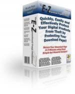 E-Z Download Page Protector Software with Master Resale Rights