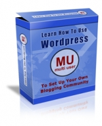 Learn How To Use Wordpress MU (Multi User) Video with Personal Use Rights