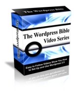 The Wordpress Bible Video Series Video with Personal Use Rights