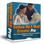 Follow-Up E-Mail Creator Pro Software with Master Resale Rights